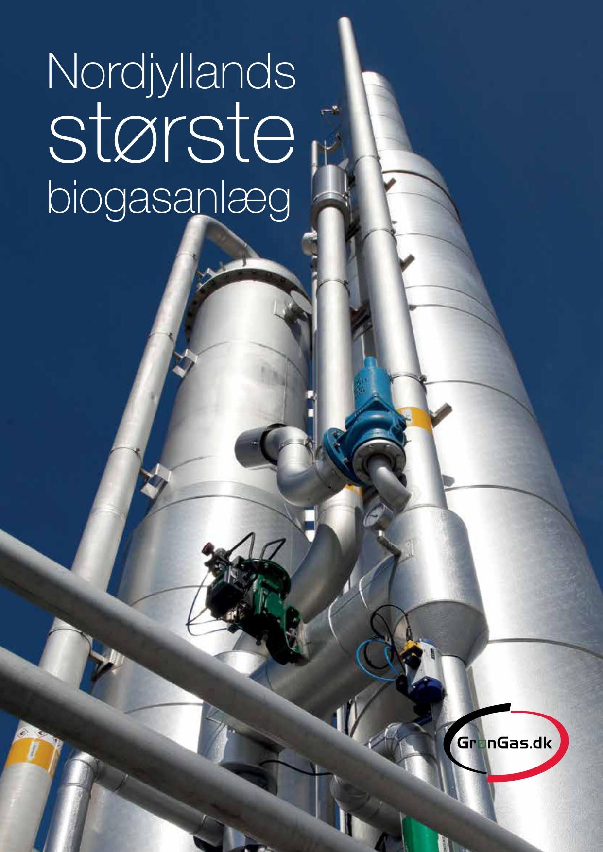 Nordjyllands største biogassanlæg